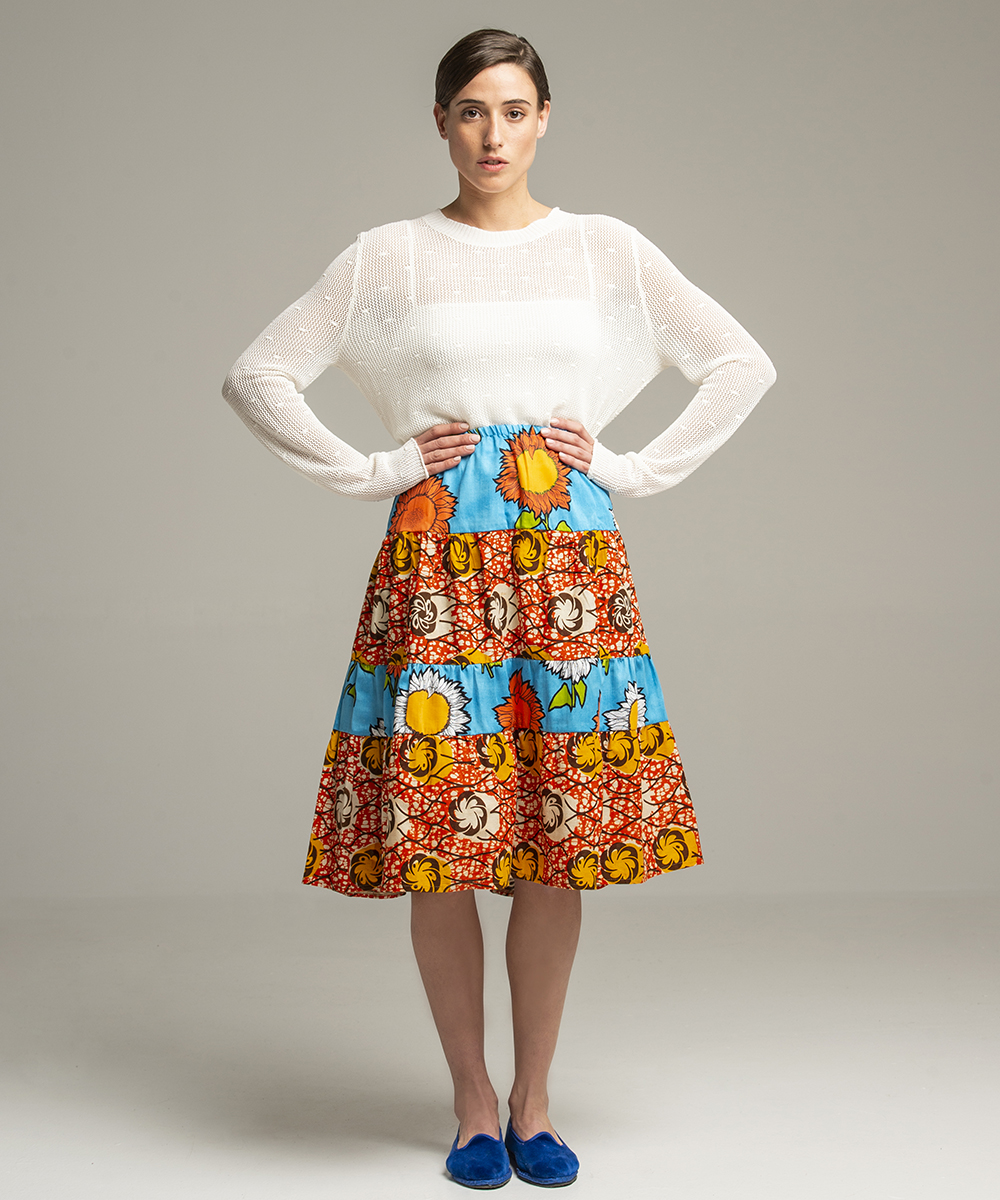Skirt - Electric Paros - One of a kind skirt