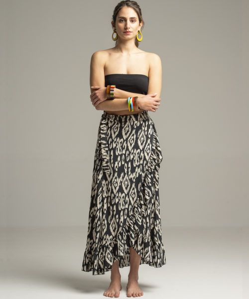 Skirt - Electric Paros - Wrap skirt