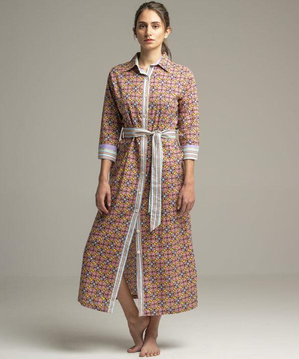 Dress Indra Mosaic - Electric Paros - SKU ep2057