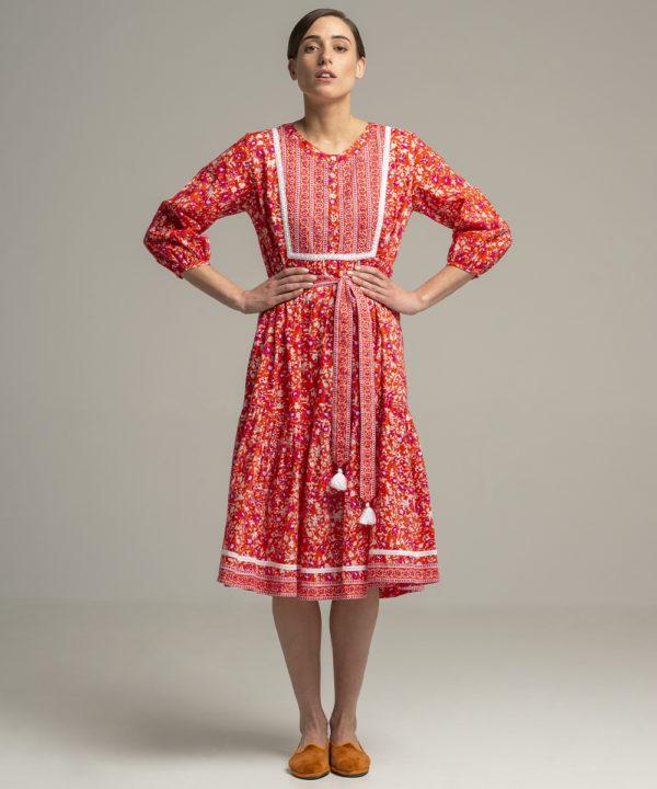 Dress Lolita Tampico Mid - Electric Paros - SKU ep2067