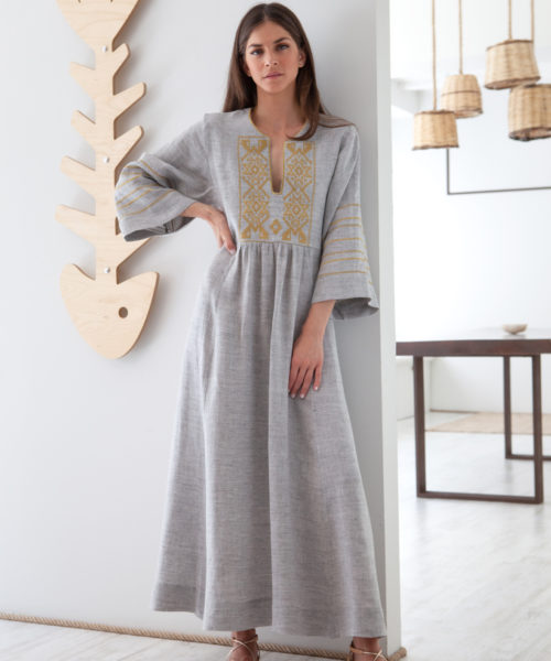 Iro Long Kaftan - Electric Paros - SKU ep2210