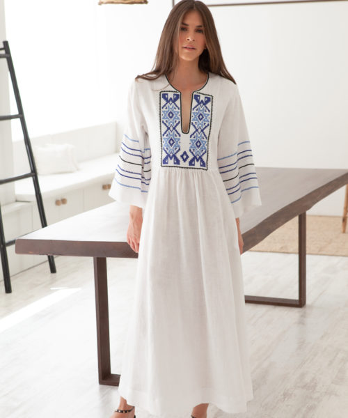 Iro Long Kaftan - Electric Paros - SKU ep2213
