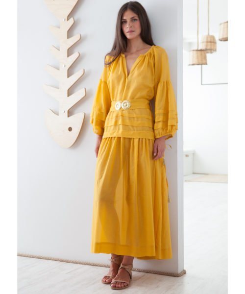 Mykonos Long Dress - Electric Paros - SKU ep2220