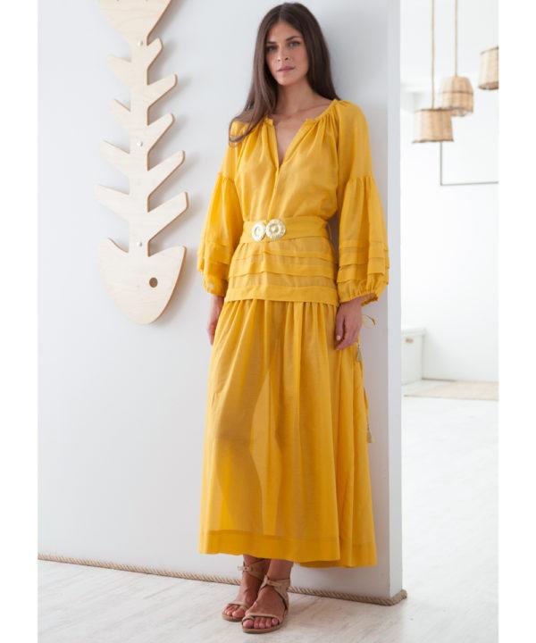 Mykonos Long Dress - Electric Paros - SKU ep2220
