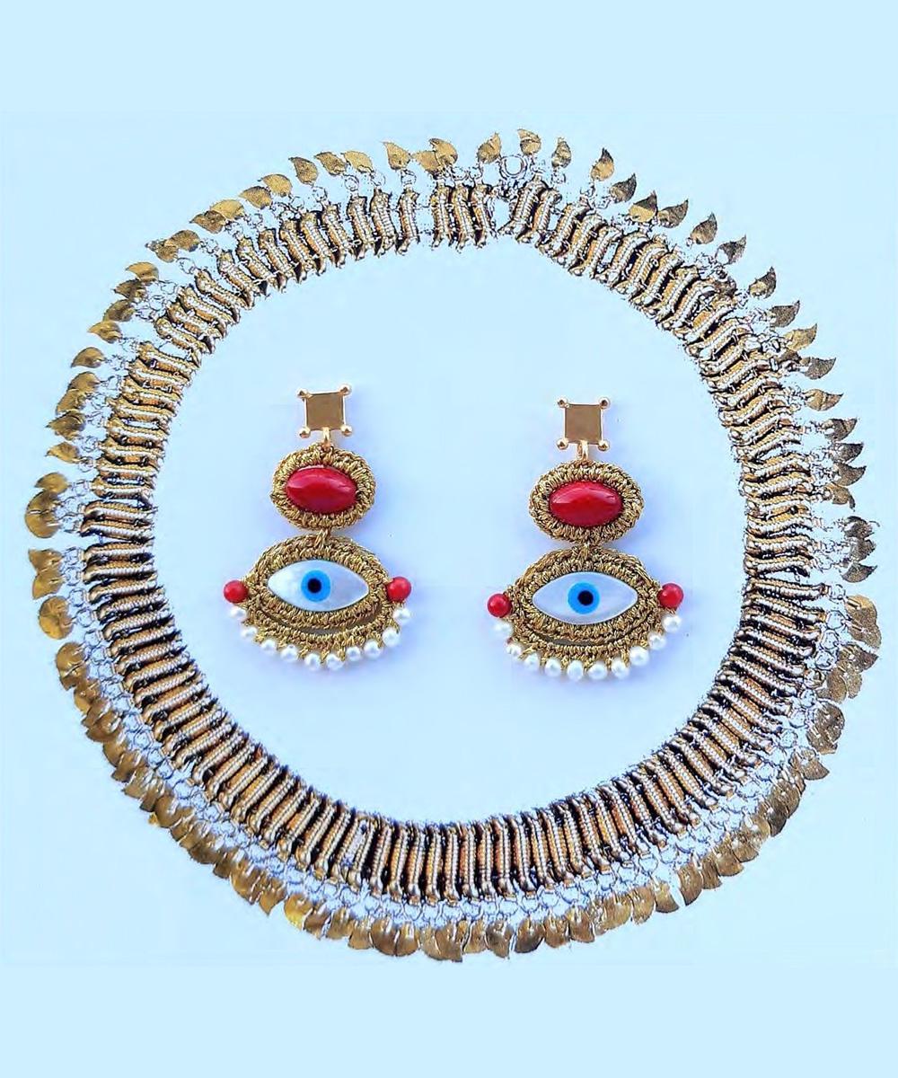 Iris Earrings - Electric Paros - SKU ep2299