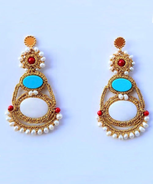 Kori Earrings - Electric Paros - SKU ep2300