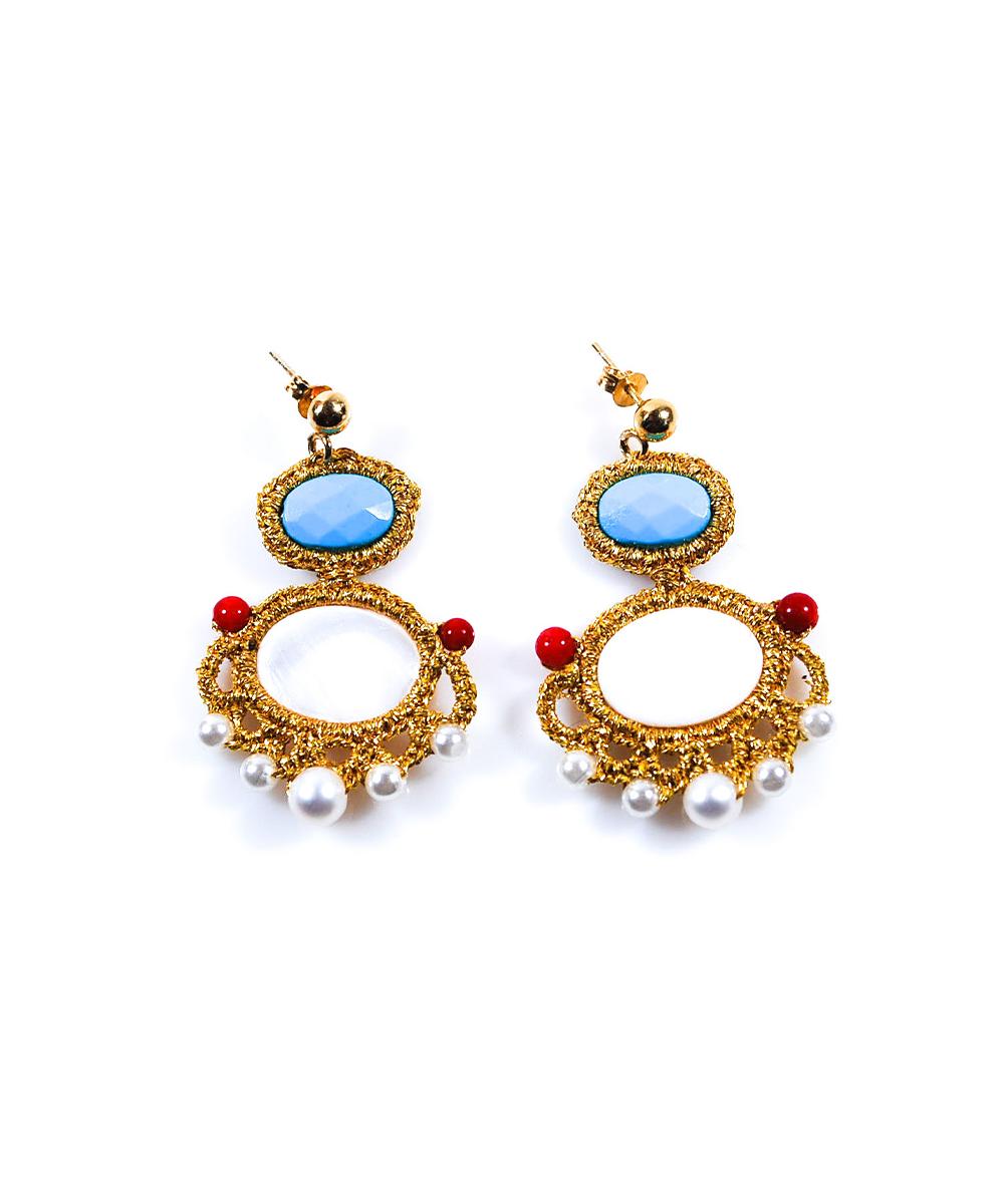 Nefeli Earrings - Electric Paros - SKU ep2304
