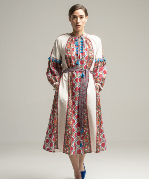 Samarkand Dress - Electric Paros - SKU ep2041