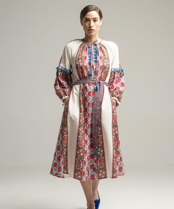 Samarkand Dress - Electric Paros - SKU ep2041