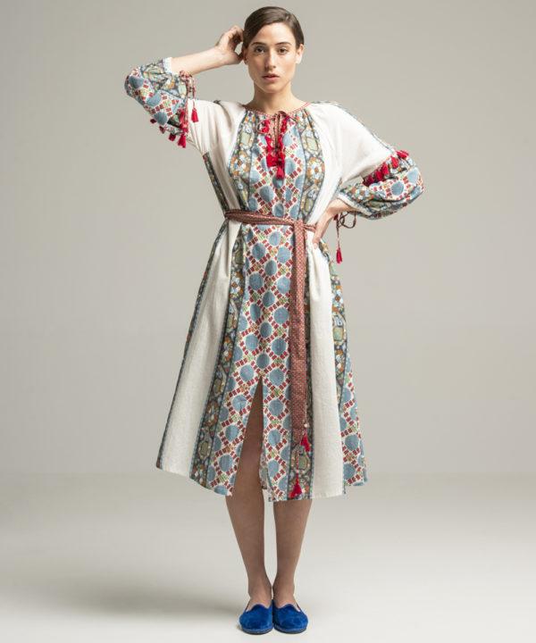 Samarkand Dress - Electric Paros - SKU ep2043