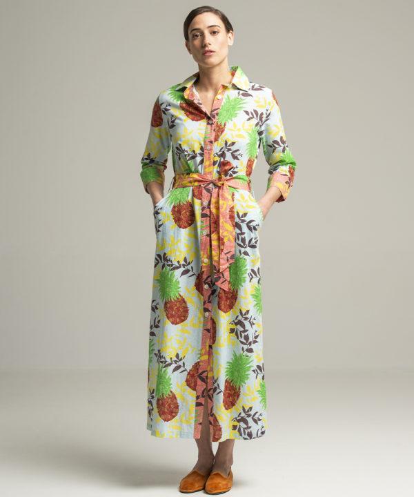 Dress Indra Ananas - Electric Paros - SKU ep2050