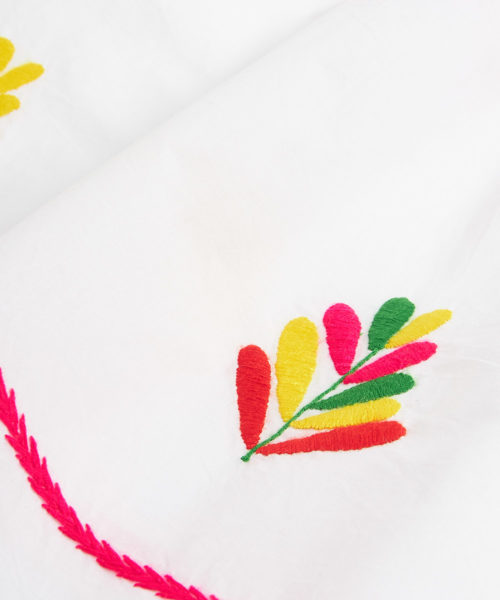 South American Dress HAND EMBROIDERED D